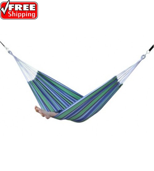 Brazilian Style Hammock - Oasis - Single