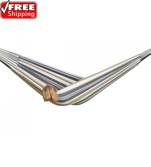 Brazilian Style Hammock - Desert Moon - Single