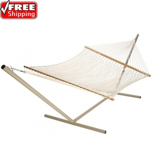 Castaway Extra Large Cotton Rope Hammock