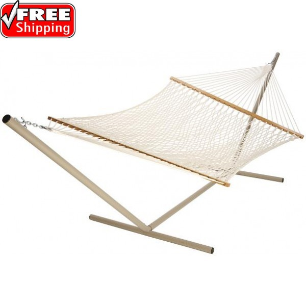 Castaway Extra Large Polyester Rope Hammock