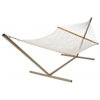 Castaway Rope Hammock with Stand