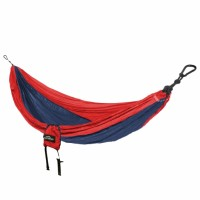 Castaway Double Travel Hammock - Red/Navy