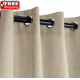 Sunbrella Outdoor Curtain with Nickel Grommets - Canvas Taupe