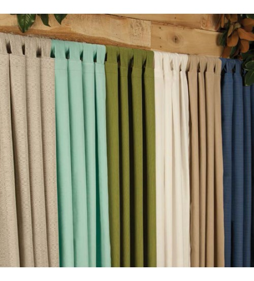 Best outdoor drapes sunbrella curtains in lots of colors