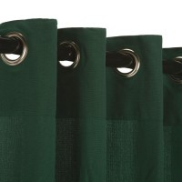 WeatherSmart Outdoor Curtain with Nickle Grommets