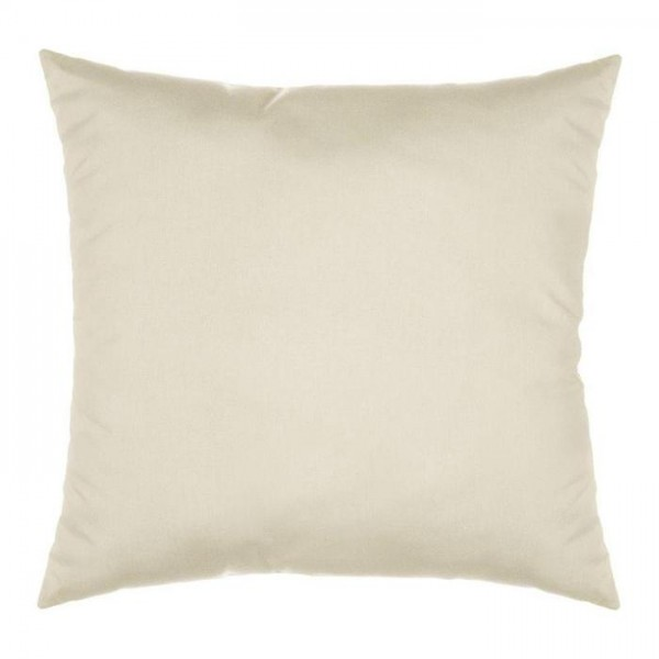 "Sunbrella 18""x18"" Square Throw Pillow - Spectrum Eggshell"