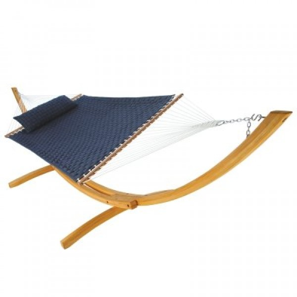 Large Soft Weave Hammock - Navy