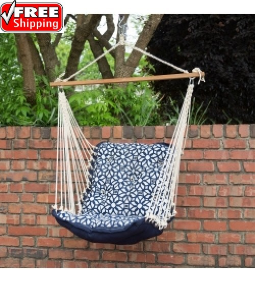 Tufted Single Swing Luxe Indigo