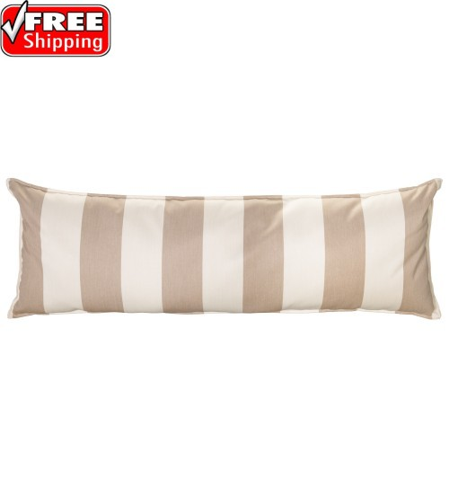 "52"" Long Hammock Pillow - Sunbrella® Regency Sand"