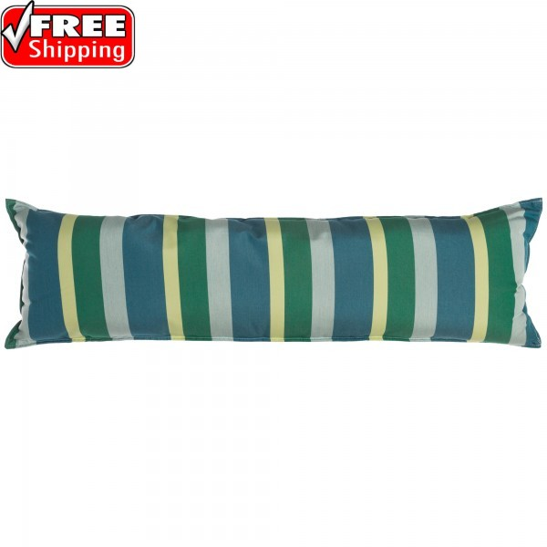"52"" Long Hammock Pillow - Sunbrella® Gateway Tropic"