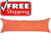 "52"" Long Hammock Pillow - Sunbrella® Echo Sangria"