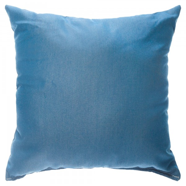 "Sunbrella 18""x18"" Square Throw Pillow - Canvas Regatta"