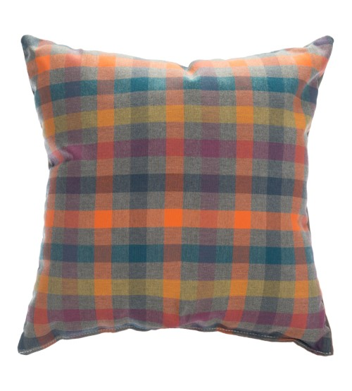 "Sunbrella 18""x18"" Square Throw Pillow - Connect Twilight"