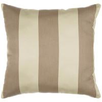 "Sunbrella 18""x18"" Square Throw Pillow - Regency Sand"