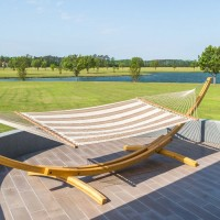 Large Quilted Hammock - Sunbrella Regency Sand