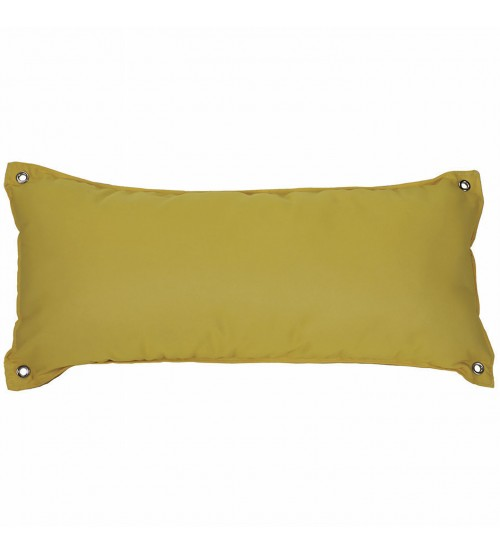 Traditional Hammock Pillow - Sunbrella® Canvas Sunflower