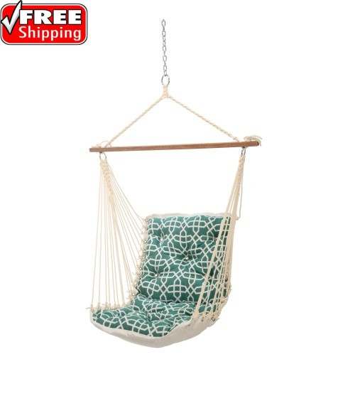 Tufted Single Swing Bevel Lagoon