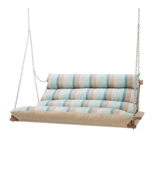 Deluxe Cushioned Double Swing - Gateway Mist