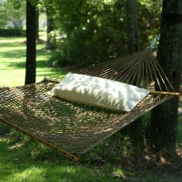 Deluxe Antique Brown Duracord Rope Hammock