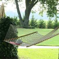 Pawleys Island Large Cotton Rope Hammock