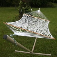 Pawleys Island Deluxe Polyester Rope Hammock
