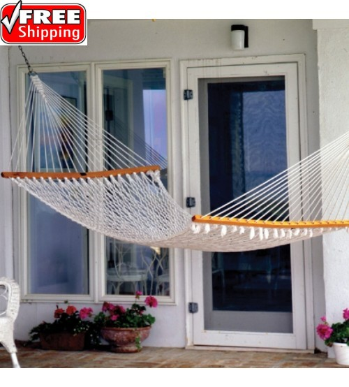 Pawleys Island Single Original Cotton Rope Hammock