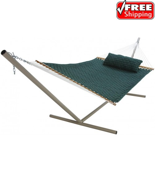 Pawleys Island Large SoftWeave Hammock - Green
