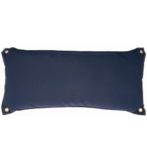 Traditional Hammock Pillow - Sunbrella® Canvas Navy