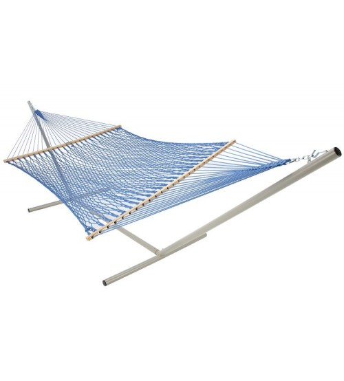Pawleys Island Large DuraCord® Rope Hammock  - Coastal Blue