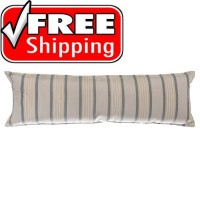 "52"" Long Hammock Pillow - Sunbrella® Cove Pebble"