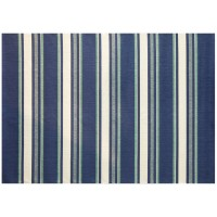 Outdoor Rug by Treasure Garden - Hampton Bay Blue