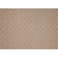 Outdoor Rug by Treasure Garden - Teak & Black Lattice