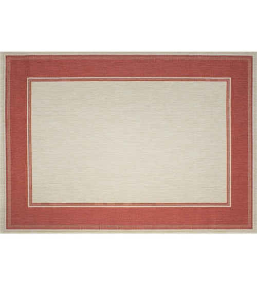 Outdoor Rug by Treasure Garden - Lodge Redwood
