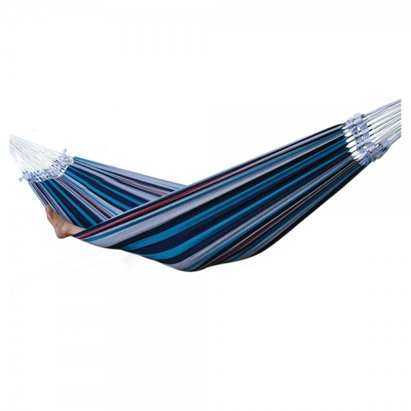 Brazilian Style Hammock - Denim - Single