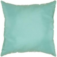 "Sunbrella 18""x18"" Square Throw Pillow - Canvas Glacier"